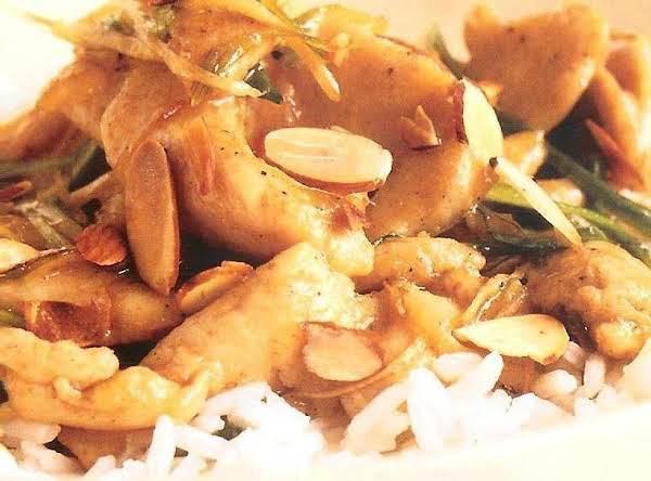 Ginger Almond Chicken Recipe