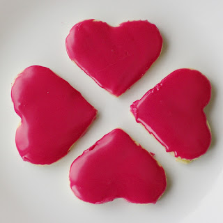Sugar Cookies for Valentine's day….