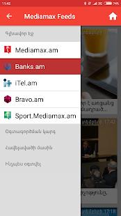 Mediamax Feeds - náhled