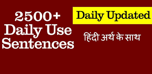 Daily Use Conversation Sentences with Hindi - Apps on Google
