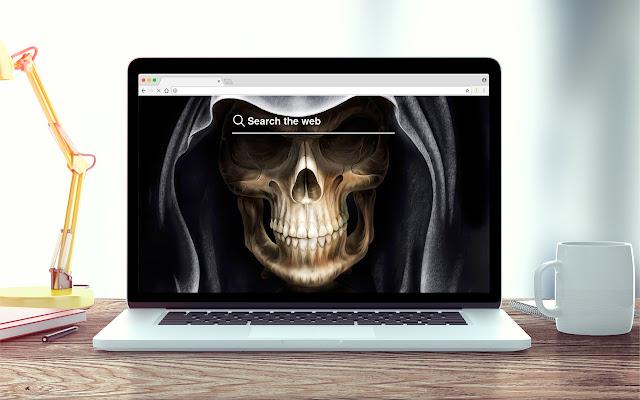 Skeletons New Tab Halloween Theme