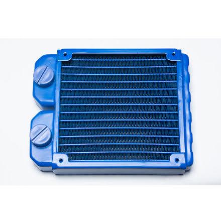 Magicool 120 Slim radiator, UV Blå, 1x120-30