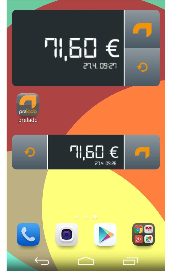 prelado - Prepaid Top-up - screenshot