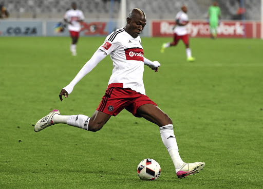 Tendai Ndoro is looking for a new club after Ajax released him. / Chris Ricco/BackpagePix