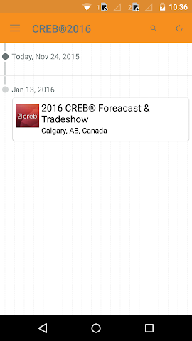 android CREB® 2016 Forecast Conference Screenshot 1