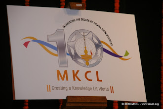 Photo: MKCL 10th Foundation Day
