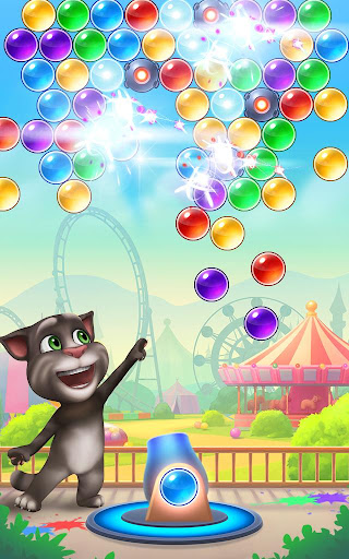 Talking Tom Bubble Shooter screenshot 8
