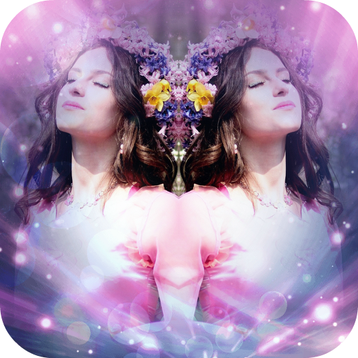 Mirror Picture Effect: Image Photo Collage Editor Icon