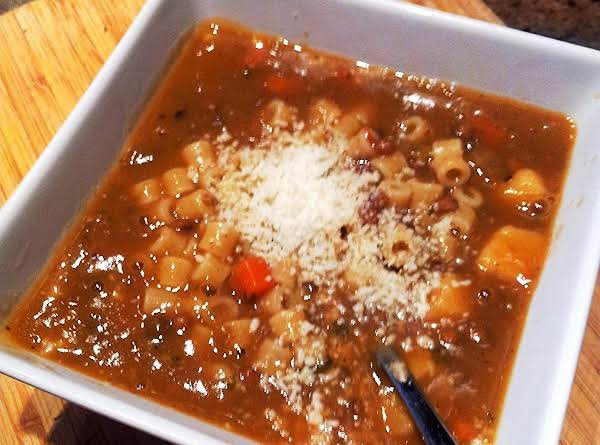 French Lentil Soup With Pasta Recipe