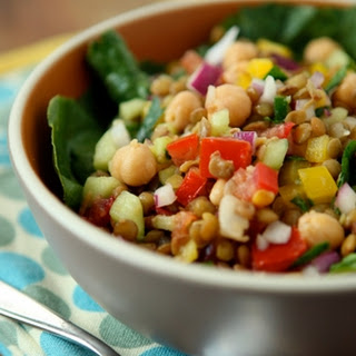 Lentil and Vegetable Salad
