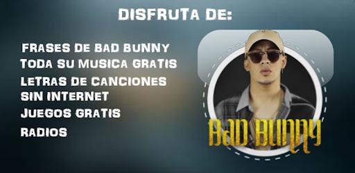 Songs Free Bad Bunny Music Lyrics And Phrases Apk App