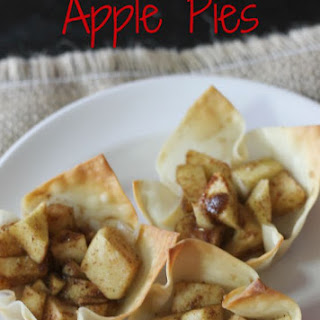 Skinny Mini Apple Pies
