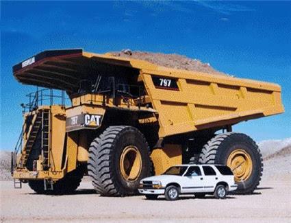 Photo: Over-Sized Dump Truck Bases