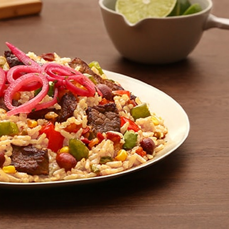 Sizzling Mexican Steak Recipe