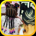 African Kids Braiding Styles icon