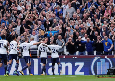 Tottenham s'adjuge le derby et rejoint Liverpool et Chelsea au général
