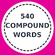 540 English compound words APK