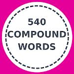540 English compound words Icon