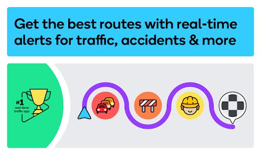 Waze Apk – GPS, Maps, Traffic Alerts & Live Navigation 1