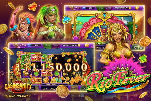 Casinsanity Slots u2013 Free Casino Pop Games screenshots 1