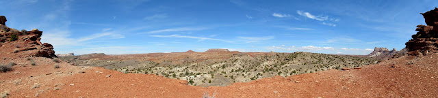 Panorama from a Wild Horse Creek tributary