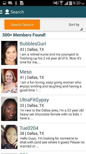 Big & Beautiful Singles Dating screenshot