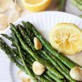 Oven Roasted Asparagus with Lemon and Garlic Recipe