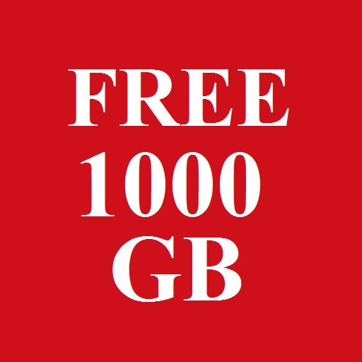 1000 Gb free Storage Prank