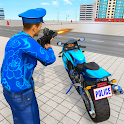 US Police Bike 2020 - Gangster Chase Simulator icon