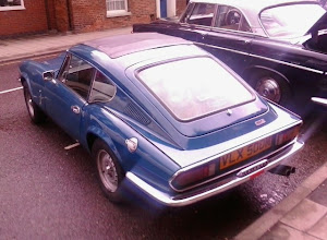 Photo: The  mk3 faster than the MG's for the 1st time due to the streamlined aerodynamics of 1973.. http://en.m.wikipedia.org/wiki/Triumph_GT6