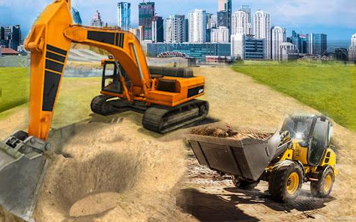 Construction City 2019: Building Simulator android2mod screenshots 4