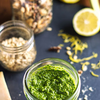 Pesto with Spinach and Walnuts Recipe