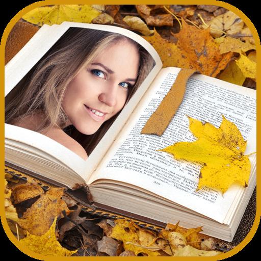 Book Photo Frames: PhotoBook Collage Maker Icon