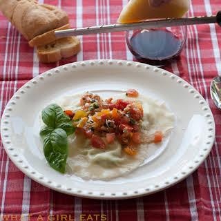 Gorgonzola Ravioli.