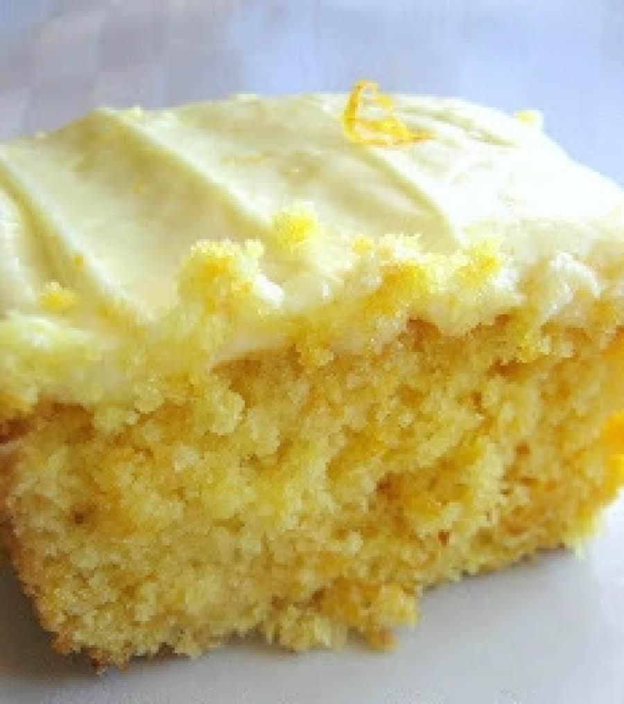 Easy Microwave Orange Cake