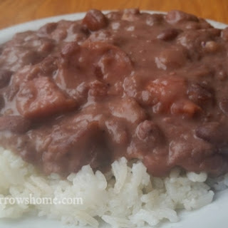 Southern Red Beans & Rice.