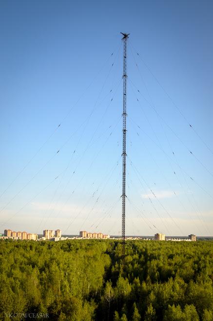 Вид с РЦ-9 на г.Электросталь
