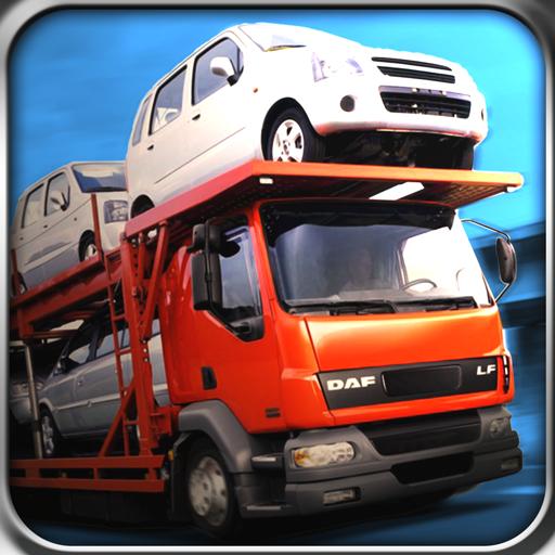 車輸送トレーラートラックの3D 模擬 App LOGO-硬是要APP