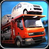 Car Transport Trailer Truck 3D