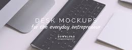 Everyday Desk Mockups - Facebook Cover Photo item