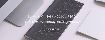 Everyday Desk Mockups - Facebook Cover Photo template