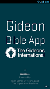 Gideon Bible App- screenshot thumbnail
