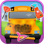 My School Bus - Cleaning Game Icon