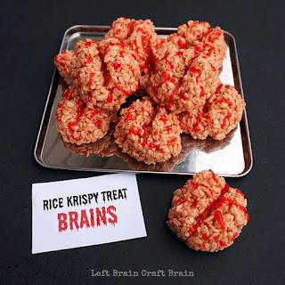 Rice Krispy Treat Brains.