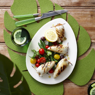 Grilled Stuffed Calamari Recipe