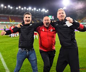 """Le coach de Rebecq est fier après le Standard : """"On a porté haut les couleurs du club et de la région"""""""