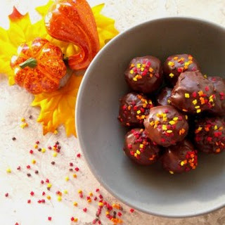 Peanut Butter Chocolate Truffles Welcome Autumn in Style