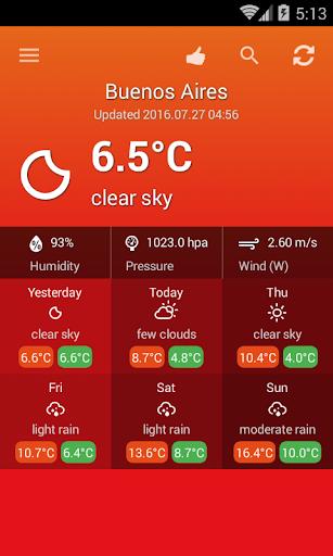 阿根廷天氣