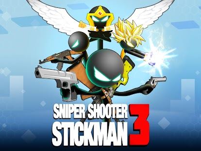 Sniper Shooter Stickman 3 Fury: Gun Shooting Games Screenshot