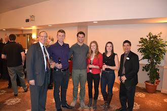 Photo: Paul Baker, David Landsberg and ASHRAE OVC Students